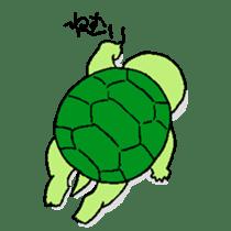 turtle's life 1st sticker #375730