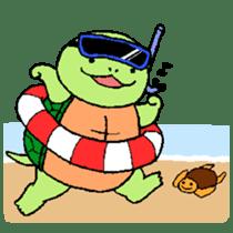 turtle's life 1st sticker #375731
