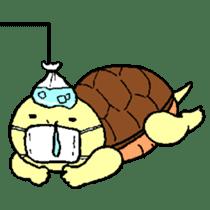 turtle's life 1st sticker #375736