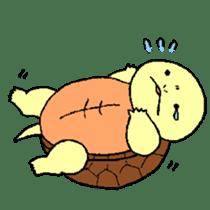 turtle's life 1st sticker #375743
