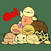 turtle's life 1st sticker #375744