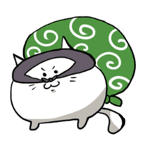 Cat sticker #375896
