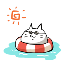 Cat sticker #375904