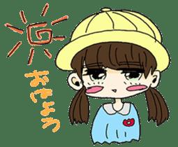 kawaii girl sticker #375964