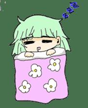 kawaii girl sticker #375965