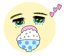 kawaii girl sticker #375967