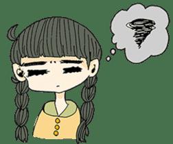 kawaii girl sticker #375978
