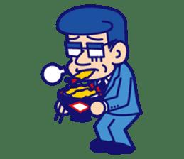 comical Japanese Sticker sticker #376185