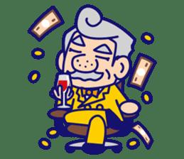 comical Japanese Sticker sticker #376190
