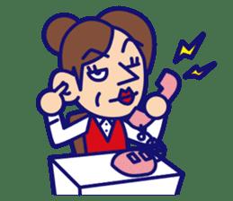 comical Japanese Sticker sticker #376192
