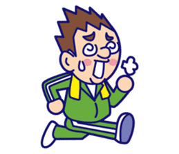 comical Japanese Sticker sticker #376203