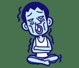 comical Japanese Sticker sticker #376218