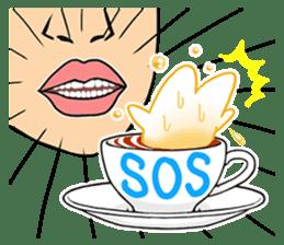 Cappucci-nyan sticker #376462