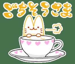 Cappucci-nyan sticker #376464