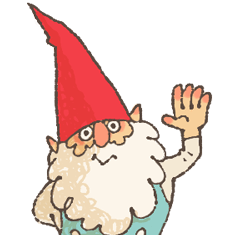 the gnome in the woods