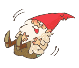 the gnome in the woods sticker #377009