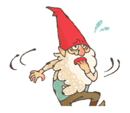 the gnome in the woods sticker #377015