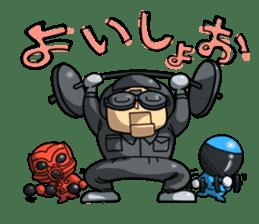 Tokyo Shinku Chitai sticker #377361