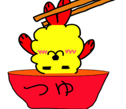 tempura dog. sticker #377593