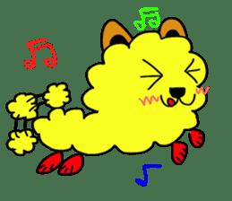 tempura dog. sticker #377605