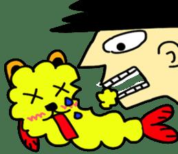 tempura dog. sticker #377620