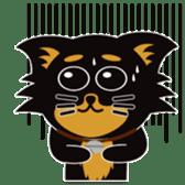 CHIHUAHUA in BLACK sticker #377957