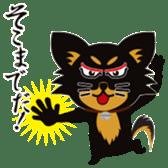 CHIHUAHUA in BLACK sticker #377960