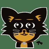 CHIHUAHUA in BLACK sticker #377971