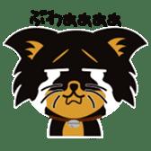 CHIHUAHUA in BLACK sticker #377976