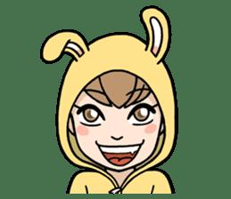 bunny sticker #377985