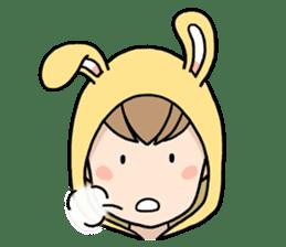 bunny sticker #377988