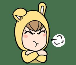 bunny sticker #377990
