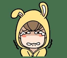 bunny sticker #377992