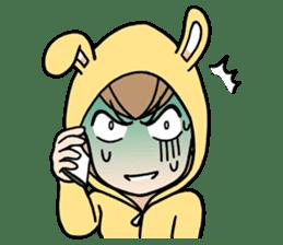 bunny sticker #377997