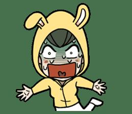 bunny sticker #378005