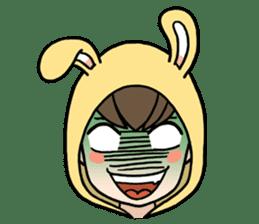 bunny sticker #378011