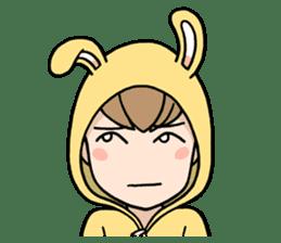 bunny sticker #378013