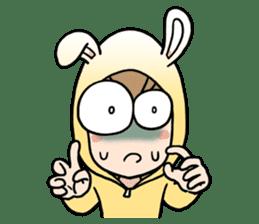 bunny sticker #378014