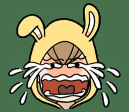 bunny sticker #378015