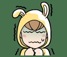 bunny sticker #378018