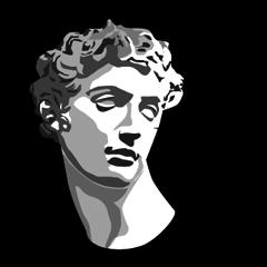 The plaster figure