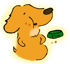 Dachshund Crin sticker #379234
