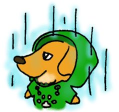 Dachshund Crin sticker #379240