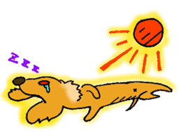 Dachshund Crin sticker #379259