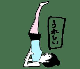 yurusuta(yoga/Daily conversation ver.) sticker #380553