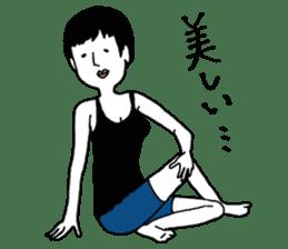 yurusuta(yoga/Daily conversation ver.) sticker #380556