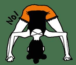 yurusuta(yoga/Daily conversation ver.) sticker #380567
