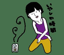 yurusuta(yoga/Daily conversation ver.) sticker #380576