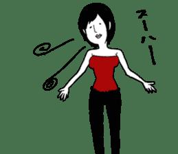 yurusuta(yoga/Daily conversation ver.) sticker #380578