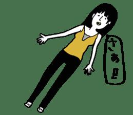 yurusuta(yoga/Daily conversation ver.) sticker #380579